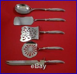 Flair by 1847 Rogers Plate Silverplate Brunch Serving Set 5pc HHWS Custom Made