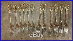 Golden Old Vienna Silverware by F. B. Rogers
