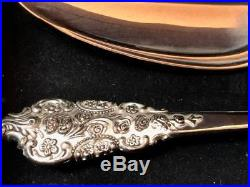 Grande Antique Silver Electroplate by FB Rogers 98 pieces Service for 12