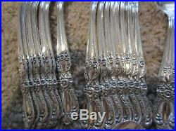 HERITAGE 1847 Rogers silverplate 66pc COMPLETE SET for 8 PLUS Extras / Service