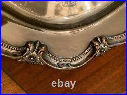 LARGE 29 handled ROGERS REMEMBRANCE International SILVERPLATE WAITER 22 TRAY