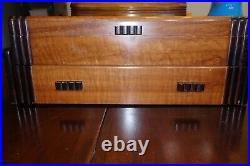 Large 101 Pc Vintage Set Wm Rogers & Son GARDENIA 1941 SilverPlate Flatware