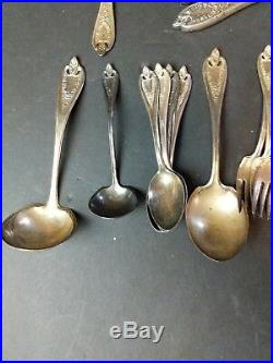 Old Colony by 1847 Rogers Plate Silverplate Horseradish Scoop Custom Made