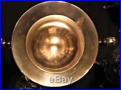 Rare Meriden B + Rogers, Smith & Co 8 Pc Silverpltd Coffee/tea Set #1919 Stunning