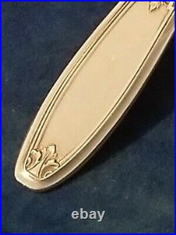Rogers Bros1847 AMBASSADOR Silverplate 70 PC Set Service 12 +RAKIN Chest 1914