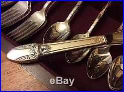 Rogers Bros 1847 International First Love Silverplate Flatware Set 52 pcs