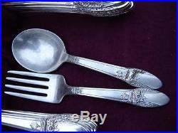 Rogers Bros 1847 International First Love Silverplate Flatware Set 54 pcs