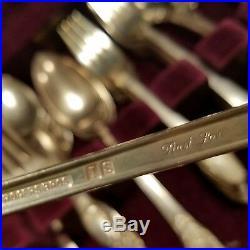 Rogers Bros 1847 International First Love Silverplate Flatware Set 60+ pcs