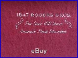 Rogers Bros 1847 Old Colony Silverware Set 48 Pieces