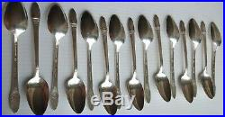 Rogers Bros 1947 First Love Flat-ware Silver-ware 56pcs set for 8 Withwooden box
