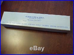 Rogers & Bros Daybreak Elegant Lady 1952 Reinforced Plate Flatware Set 5 Pieces