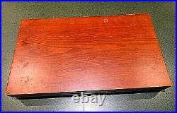 Rogers & Bros Reinforced Plate Silverplate IS Flatware Southern Splendor Set