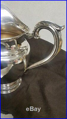 Rogers Sterling Silver Pitcher