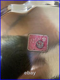 Silverplate Tea Set F. B. Rogers Silver Co-United States