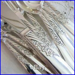 Silverware Silver ONEIDA 1881 ROGERS Flatware SET ALWAYS 60 pcs In Storage Box