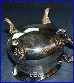 Towle SilverPlate 5 piece Tea / Coffee Service & FB Rogers Tray
