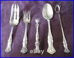 VINTAGE Antique Silverplate 140 Place & Serving Pieces Rogers 1904 Great Lot