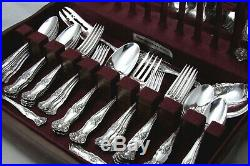 - VINTAGE GRAPE 1847 ROGERS ART NOUVEAU 1904 DINNER SET SERVING PCs CHEST