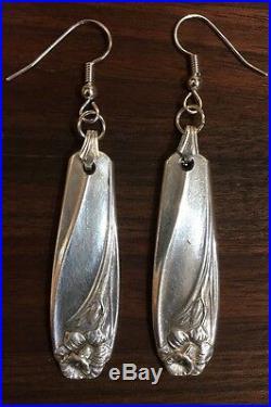 VINTAGE ROGERS BROS. SPOON/ FORK Daffodil Daffodil Flower Silverware Jewelry
