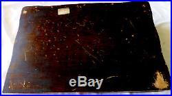 VTG 1919 78pc 1847 Rogers Bros. Ambassador Silverplate Flatware & storage chest