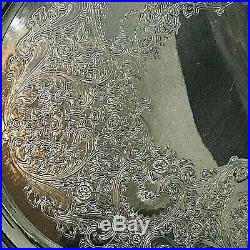 Vintage 1847 Rogers Bros Reflection 9282 Large I. S. Silver Plated 26'' Platter