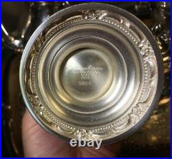 Vintage 1847 Rogers Brothers Remembrance 6 Piece Teaset
