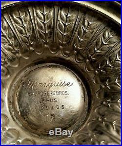 Vintage 1847 Rogers Silver Plated Tea Set