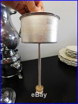 Vintage FB Rogers Silver Co. Model # 5354 coffee machine/coffee maker FREE SHIPP