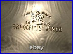 Vintage F. B. Rogers Int'l. 1883 Silver Plated Coffee/Tea Service with Tray