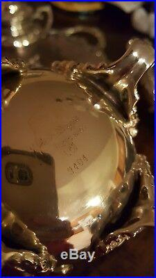 Vintage Heritage 1847 Rogers Bros. Silver-Plate Tea Set