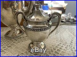 Vintage Rogers Sterling Coffee/Tea set 3pc