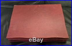 Vintage Wm Rogers IS MEMORY HIAWATHA Silverplate 49 PC FLATWARE SET withBox