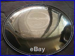 Vintage Wm Rogers Silverplate 867 Serving Tray Round Platter, 17 1/2 Diameter