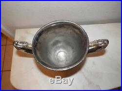 Vintage Wm Rogers Silverplate Trophy Loving Cup Host Cup Won By Army 1955