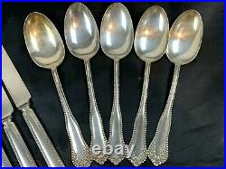 WM A. Rogers Anchor AA Mayflower 1901 Silver Plate Flatware 26 Pieces 408