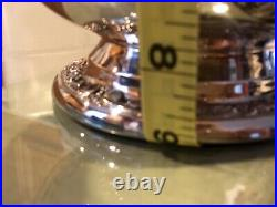 WM Rogers & Son Silver water pitcher 2317 Vintage and ice guard 9