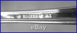 Wm. A. Rogers La Vigne Art Nouveau Soup Ladle10.5silverplate1881 A1 Grapes