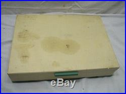 Wm Rogers Memory 72pc Silver Plate Flatware Set'E' Monogram