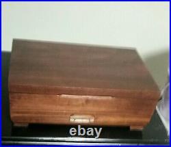 Wm Rogers Silverplate Flatware, April, 74 Pieces, Original box, Setting for 12