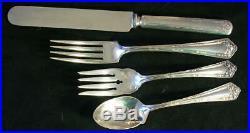Wm Rogers & Son FAIR OAK Silverplate Flatware 65 pc