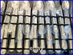 Wm Rogers and Son Silverware 51 Pieces. New