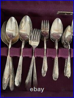 Wm rogers silverplate flatware vintage